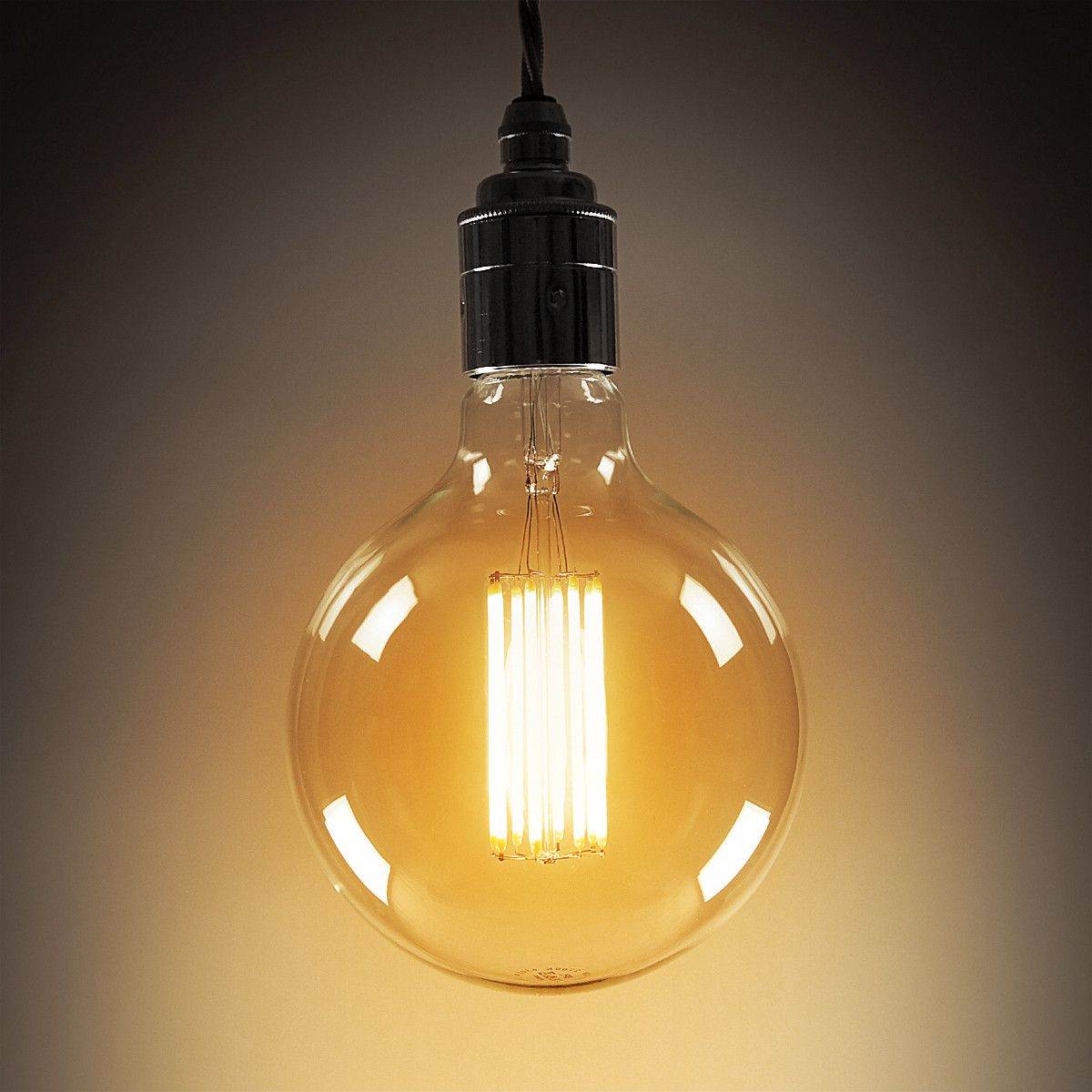 Led filament bulb large globe from smithson design led technology accent lighting bathroom