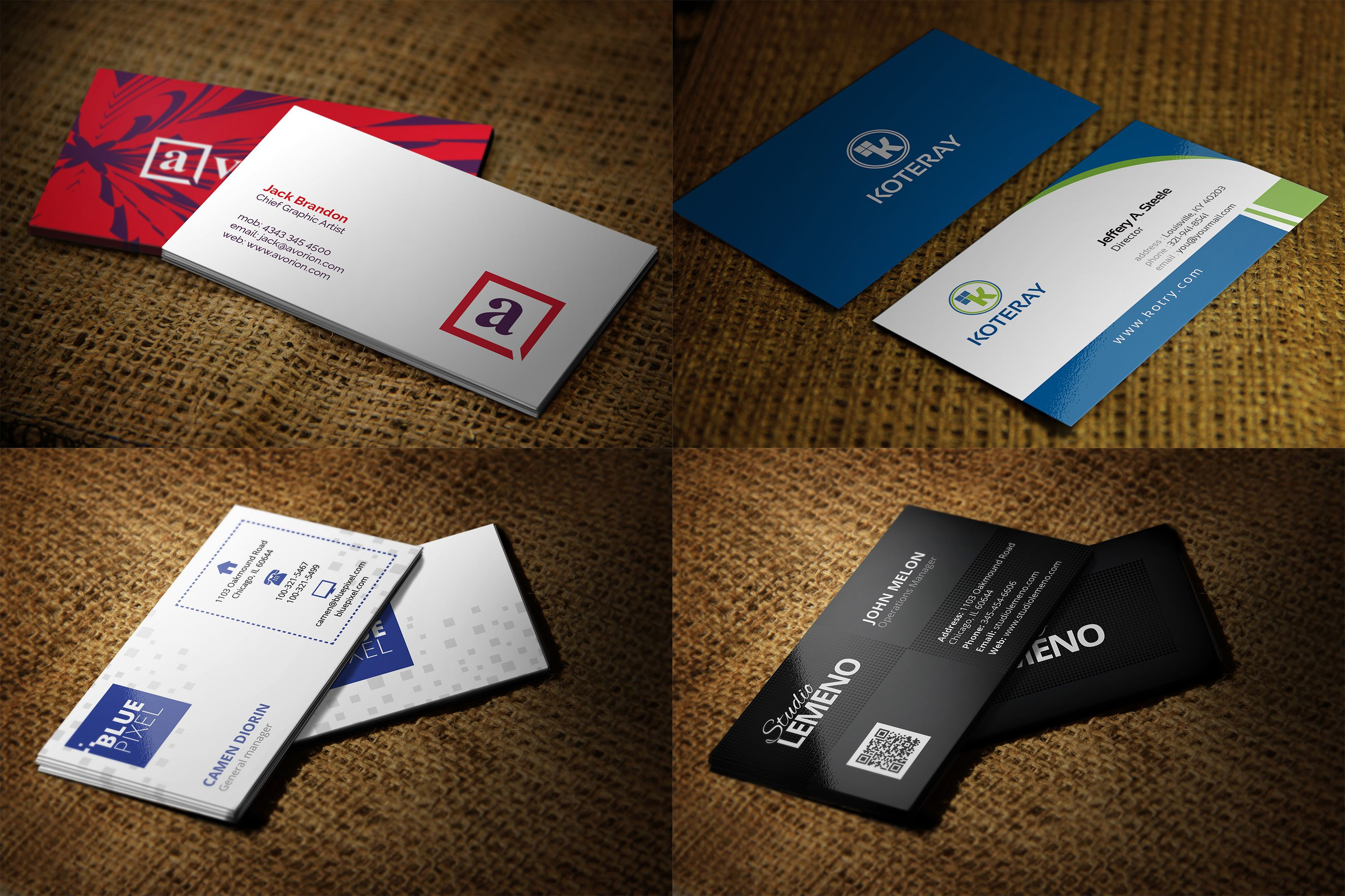 I will design Attractive Business Card Good stuffs on Gigsdy