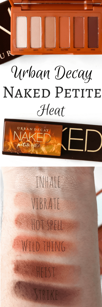 URBAN DECAY NAKED PETITE HEAT PALETTE | Kate Loves Makeup