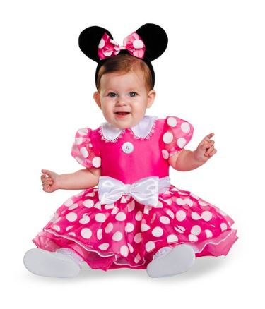 cf2f8de1bae 10+ Cutest Halloween Costumes for Baby Girl : Minnie Mouse| www ...