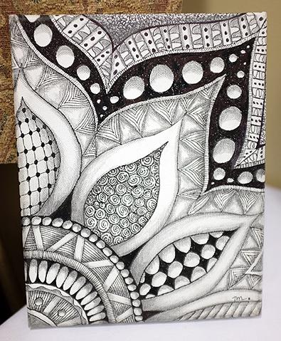 Zentangle Seminar 23 Zentangle Patterns Zentangle Drawings