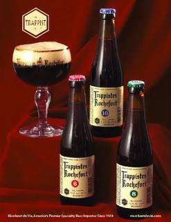 Trappist Rochefort - Amazing Belgian beer - 10 is especially delicious!