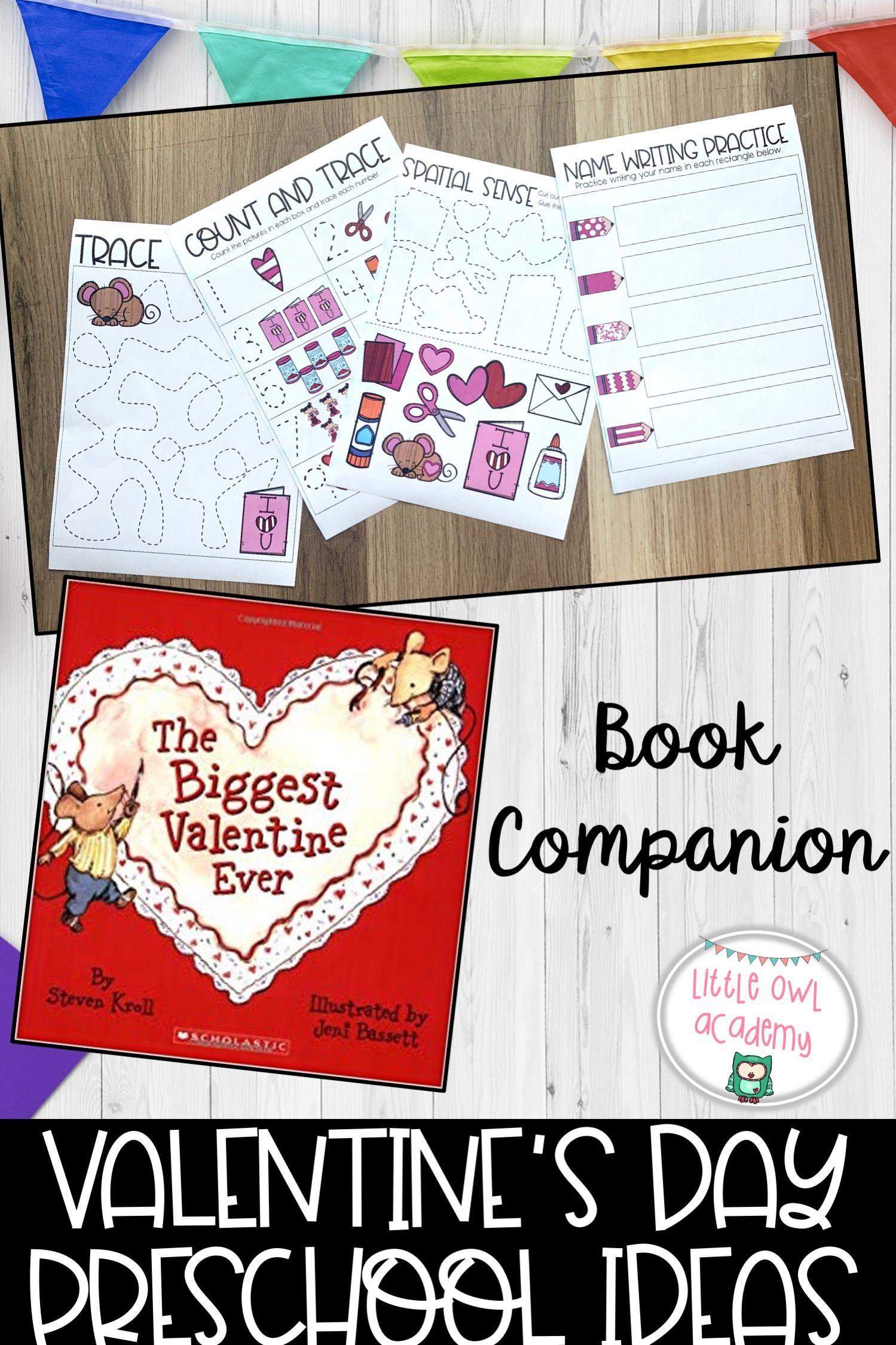 Valentine S Day Preschool Ideas In