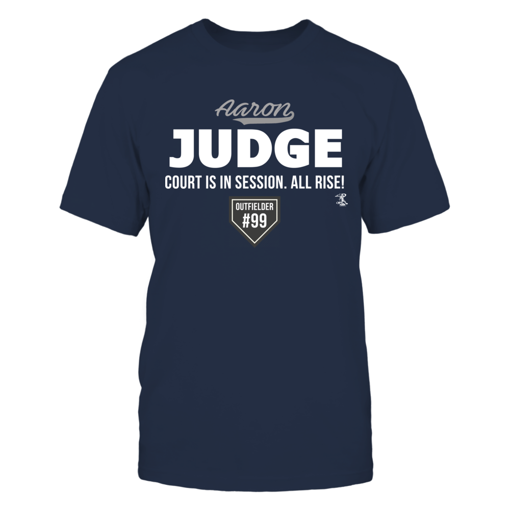 Aaron Judge Court Is In Session Cotton Long Sleeve Shirt Stylish Tee Long Sleeve Shirts