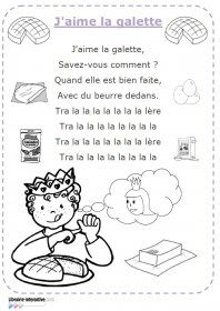 Chanson J Aime La Galette : chanson, galette, Librairie-Interactive, Chanson, J'aime, Galette, Galette,, Chansons, Maternelle,, Comptine