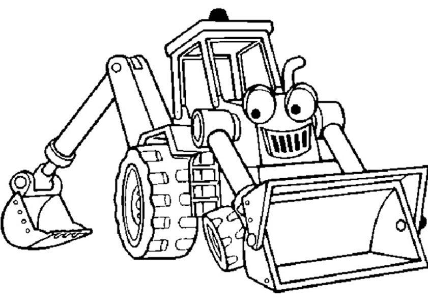 traktor ausmalbilder 01 | trekkers | Pinterest | Traktoren ...