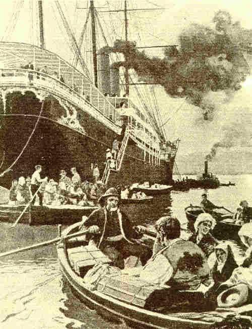 """Relato de la tragedia del Valbanera, nuestro """"Titanic"""" Español. #naufrago #buque"""