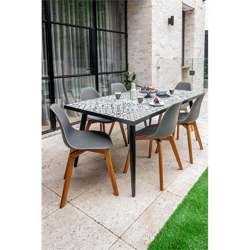 Hartman Milan Ceramic Dining Table Bunnings Warehouse Dining