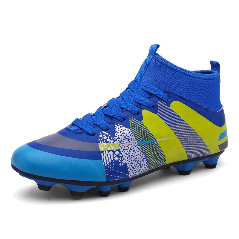 31bf7aaf1 Awesome 2017 High Ankle Kids Football Boots Superfly Original Cheap Soccer  Football Shoes Cleats Boys Girls Sneakers High Quality - $43.86 - Buy it  Now!