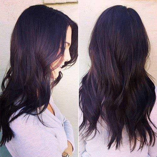 Hair Color For Dark Brown Hair Hair Styles Purple Brown Hair Hair Tint