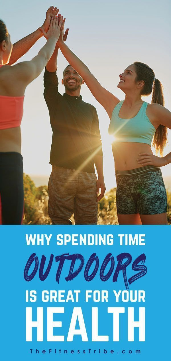 #thefitnesstribe #scientifically #healthyliving #getoutdoors #healthier #outdoors #spending #fitness...