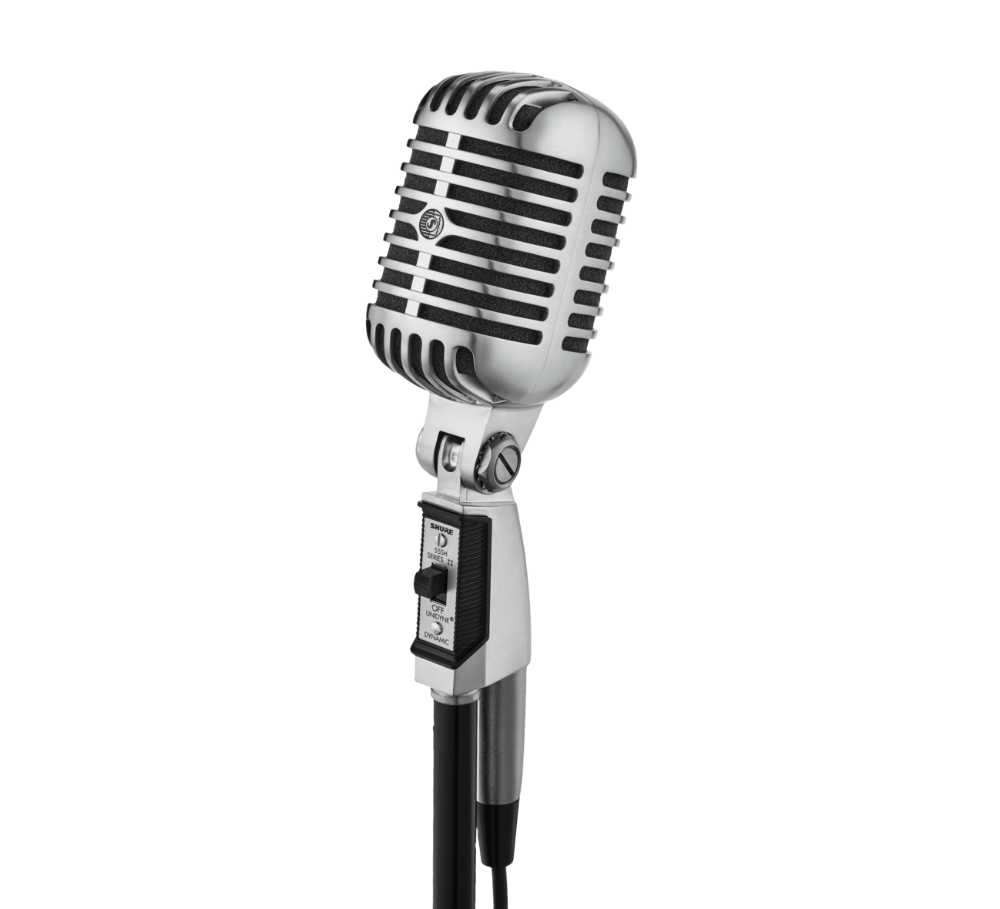 55sh Series Ii Iconic Unidyne Vocal Microphone In 2020 Microphone Vocal Vintage Microphone
