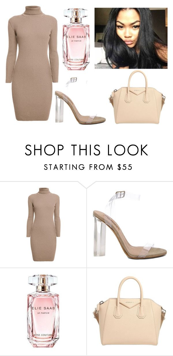 """""""'Don't Hurt Me'"""" by tanya77497 ❤ liked on Polyvore featuring Rumour London, YEEZY Season 2, Elie Saab and Givenchy"""