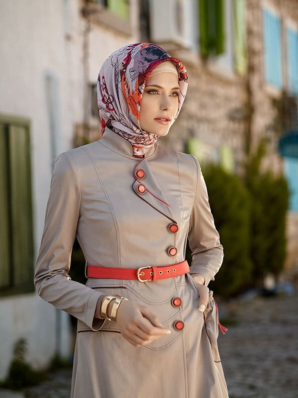 ce46a57c3470936dd93a66528ed8060e 18 Cute Ways to Tie Hijab with Different Outfits Fashionably