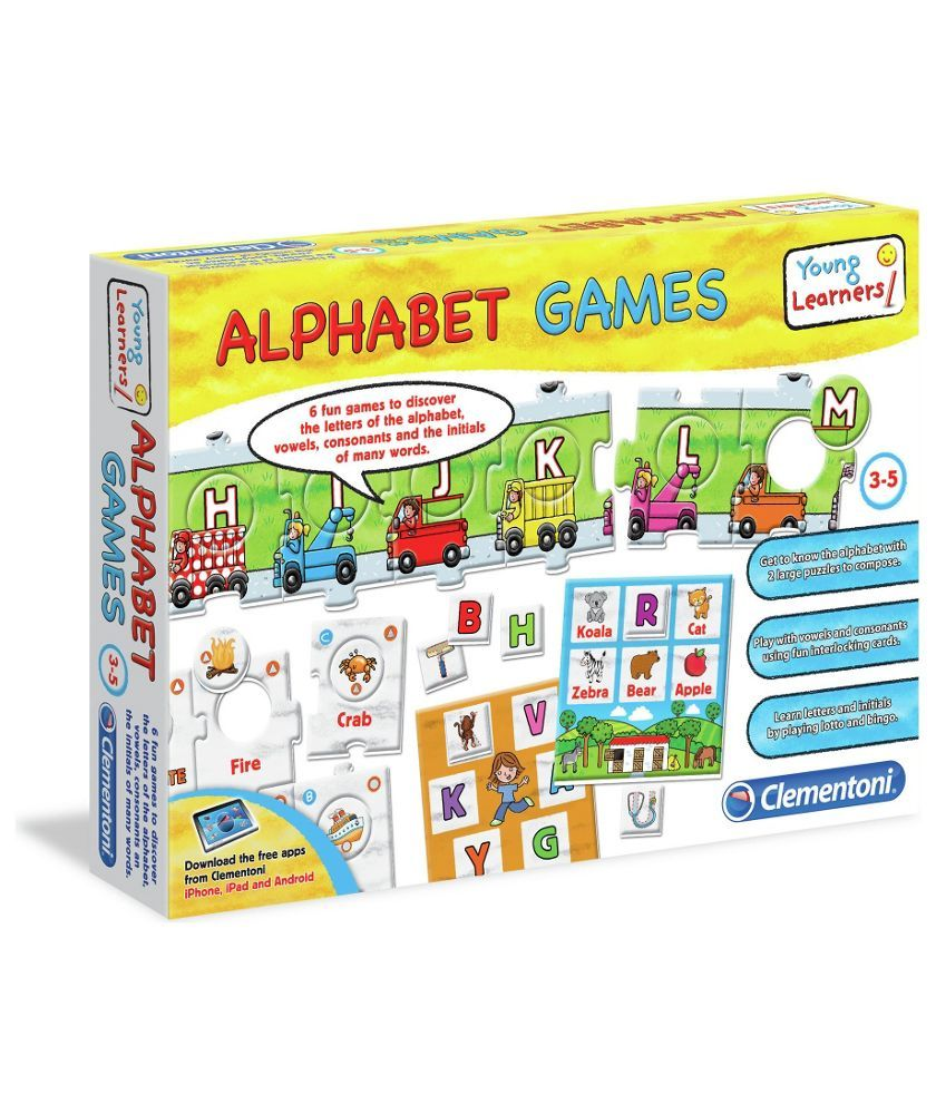 Buy Clementoni Young Learners Alphabet Games at Argos.co
