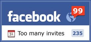http://aDollarSEO.com/ will give you 1000 FAST EVENT INVITES for $1 Dollar