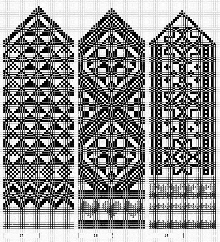 Estonian patterns very suitable for loomwork, posted by Irena K on ...