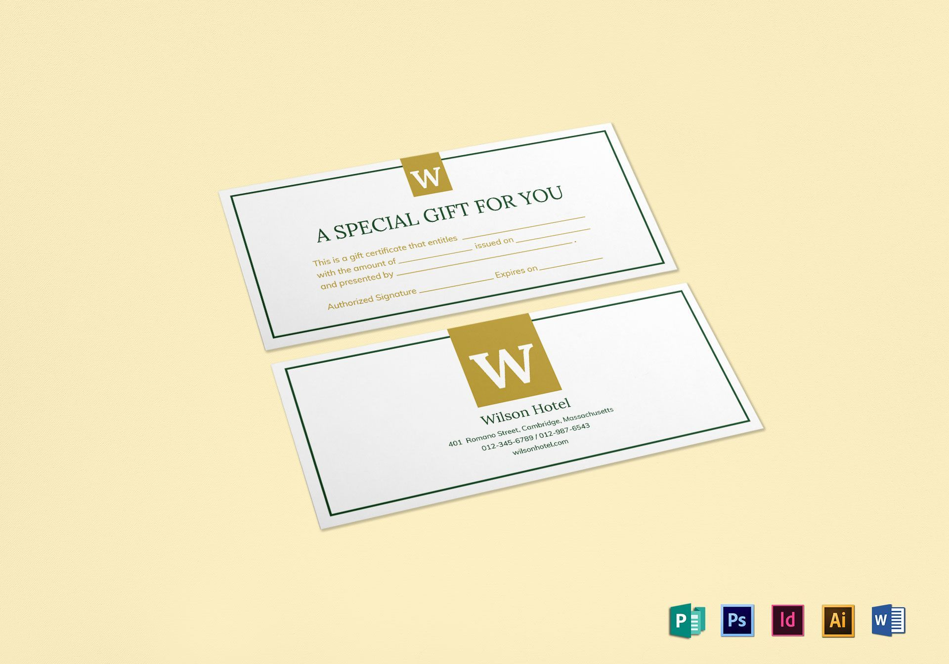 The Outstanding Hotel Gift Certificate Template In Publisher Gift Certificate Template Pictu Gift Certificate Template Gift Card Template Certificate Templates