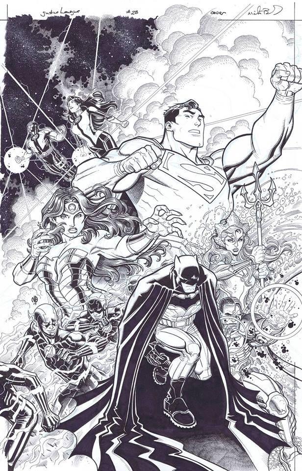 Justice League 28 Nick Bradshaw | GS - Squads 5 | Pinterest