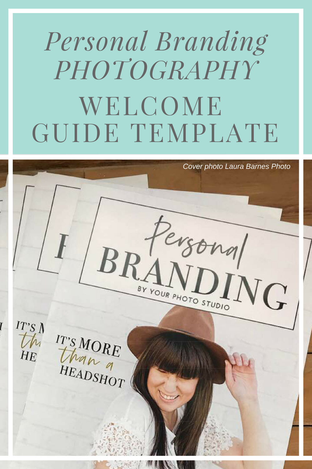 Personal Brand Photography Magazine Template | Best of Magazine Mama