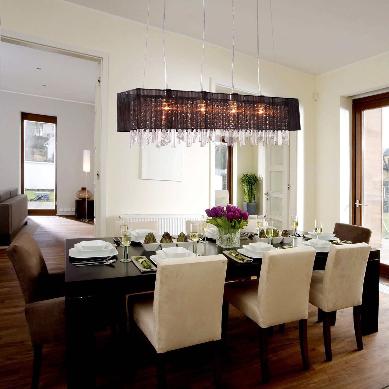 Dining Room Light Fixture Ideas  Interior Paint Color Trends Magnificent Dining Room Hanging Lights Inspiration