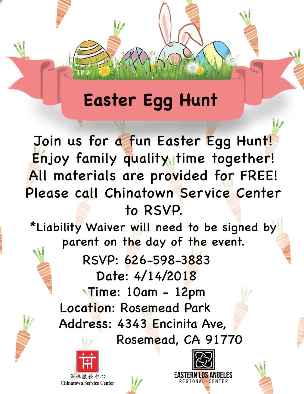 HAPPY EASTER 2018 ^0^ 復活節快樂! Join CSC for a fun Easter