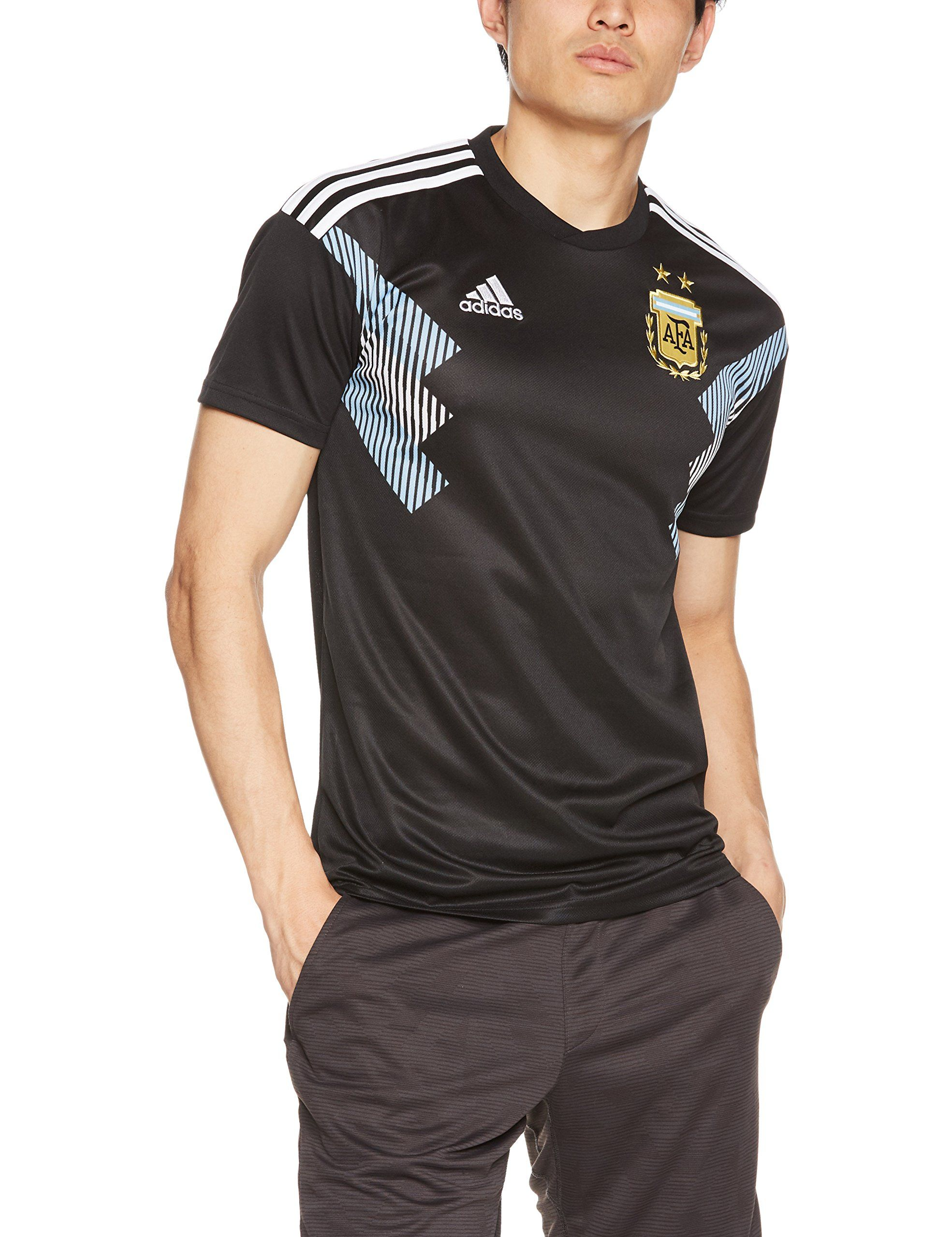 adidas 20182019 Argentina Away Football Shirt     Check this amazing item  by going to the web link at the picture. (This is an affiliate link). 66633403d7
