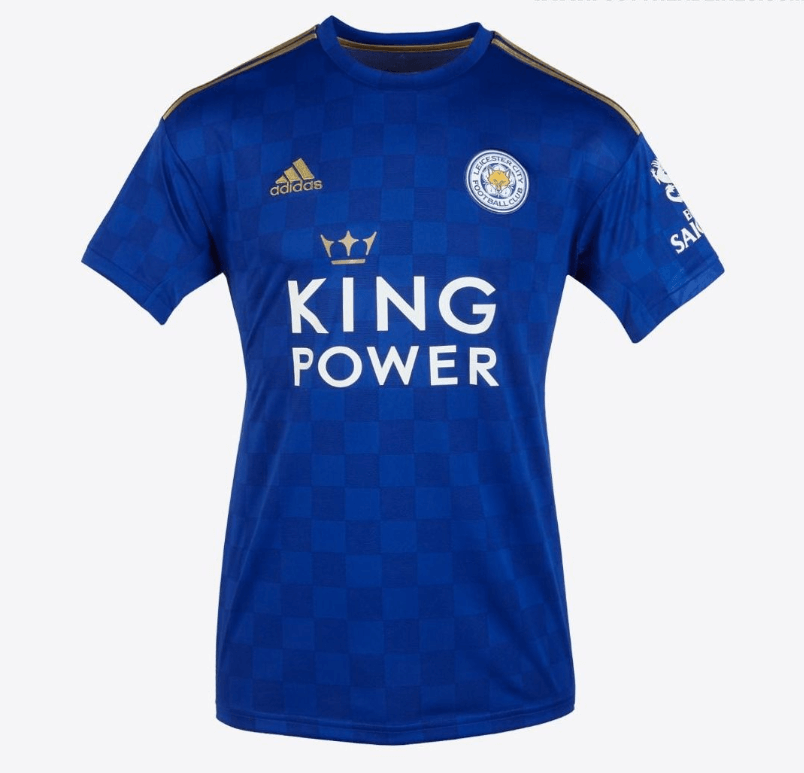 Leicester City 19 20 Home Men Soccer Jersey Personalized Name And Number