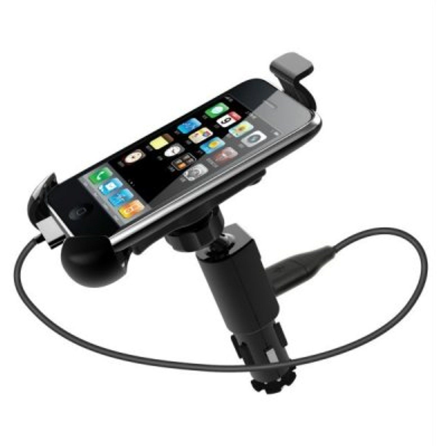 car gadgets 360 degree rotary universal car mounter holder cigarette lighter charger for smart phone black click image to review more details  [ 1500 x 1500 Pixel ]
