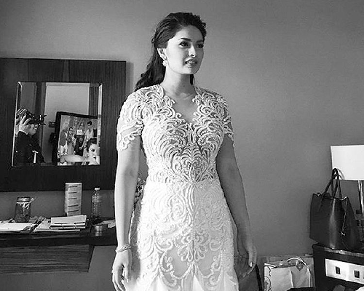 Vic Sotto And Pauleen Luna A Few Hours Before Wedding Perfect Wedding Dress Pauleen Luna Wedding