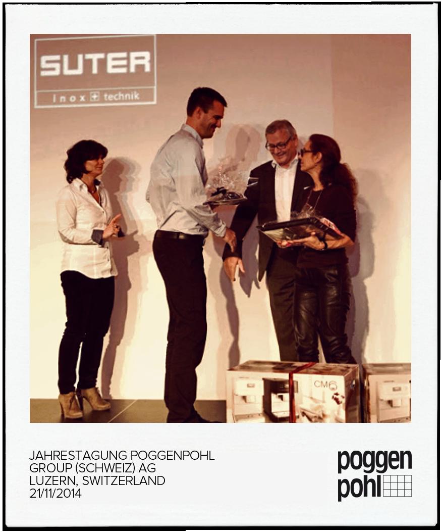 Jahrestagung Poggenpohl Group (Schweiz) AG LUZERN, SWITZERLAND