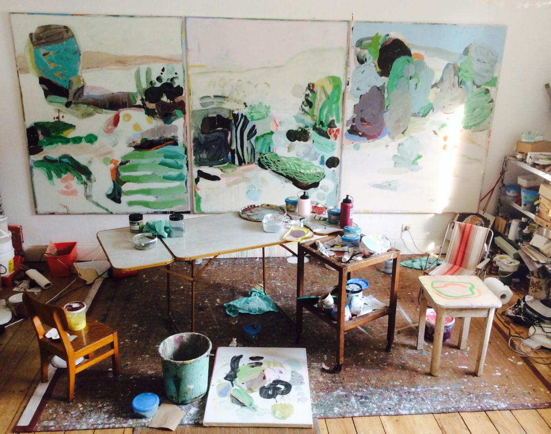 Anne Sophie Tschiegg Anne Sophie Tschiegg Les Chantiers Art Studio Space My Art Studio Abstract Artists