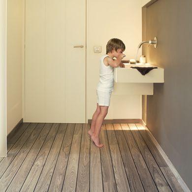 sol stratifié lagune unilin flooring - quick step tanguy matériaux ... - Plancher Flottant Salle De Bain