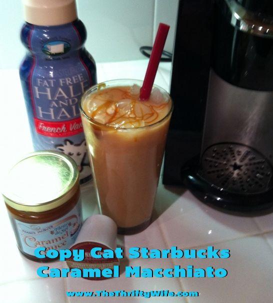 Starbucks Copycat: Iced Upside Down Caramel Macchiato 3 To