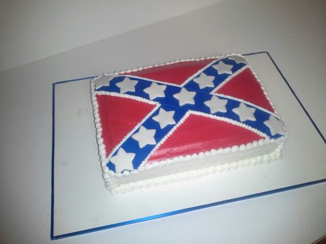 Pin By Confederate Cakes On Flag Cake In 2020 Flag Cake Cute Cakes Cake