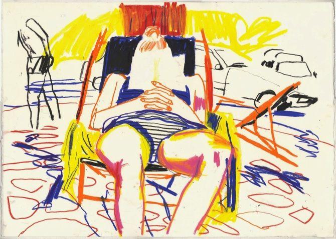 Yann Kebbi http://ossomagazine.com/filter/illustrazione/ILLUSTRAZIONE-Yann-Kebbi-Figure-in-movimento-e-colori-forti