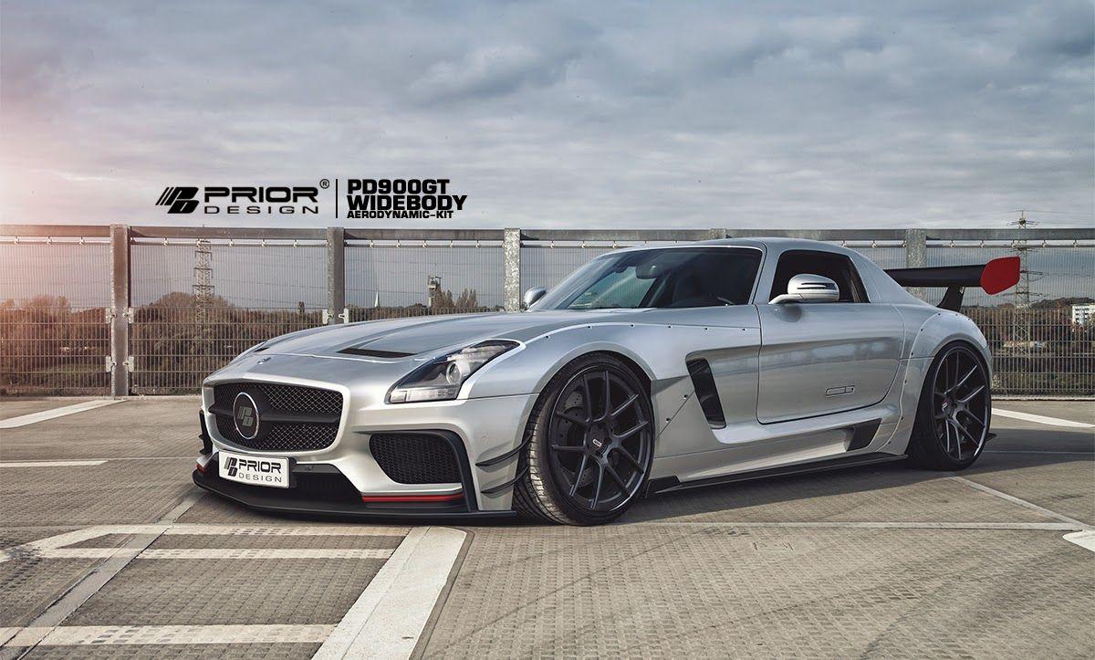 Mercedes Benz Sls Amg Gt3 Pd900gt Widebody Aerodynamic Kit By