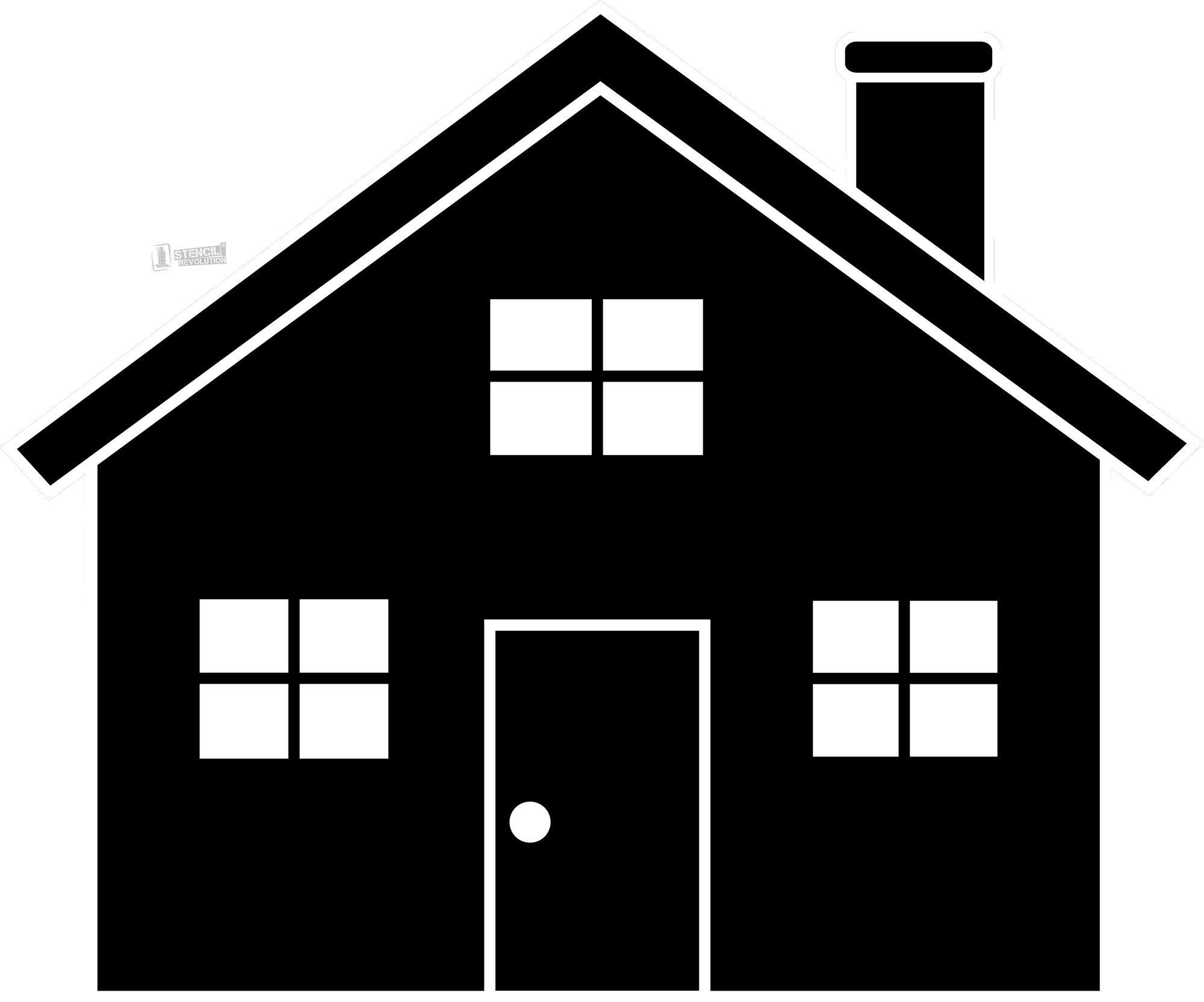 House stencil
