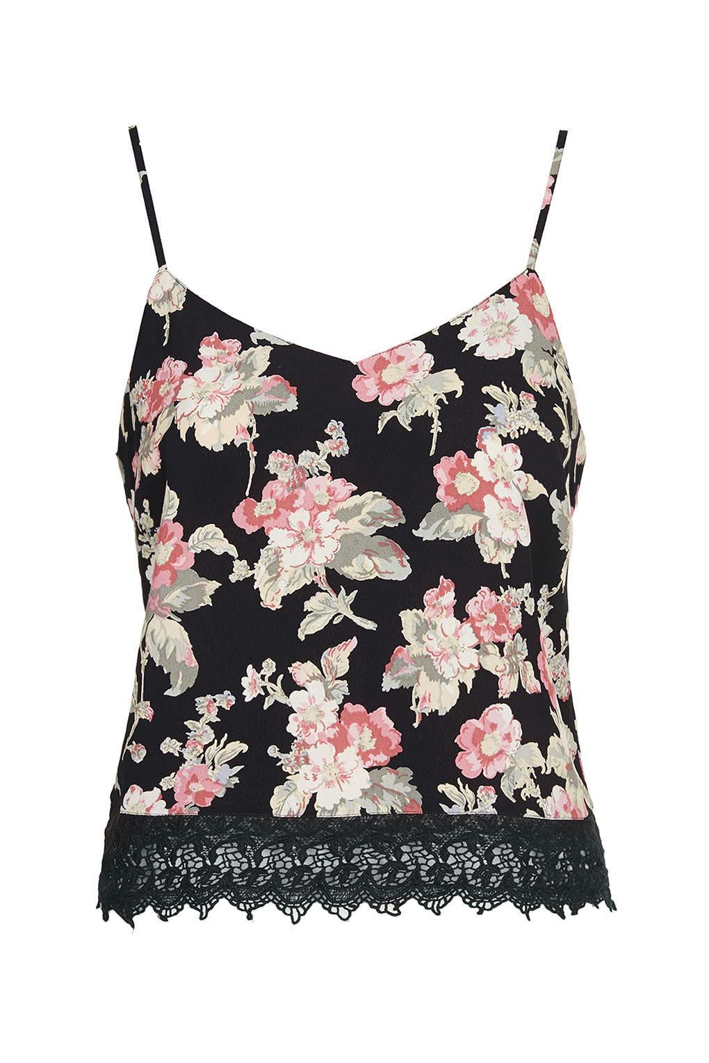 Petite Floral Print Cami Tops Clothing Cami Tops Clothing And