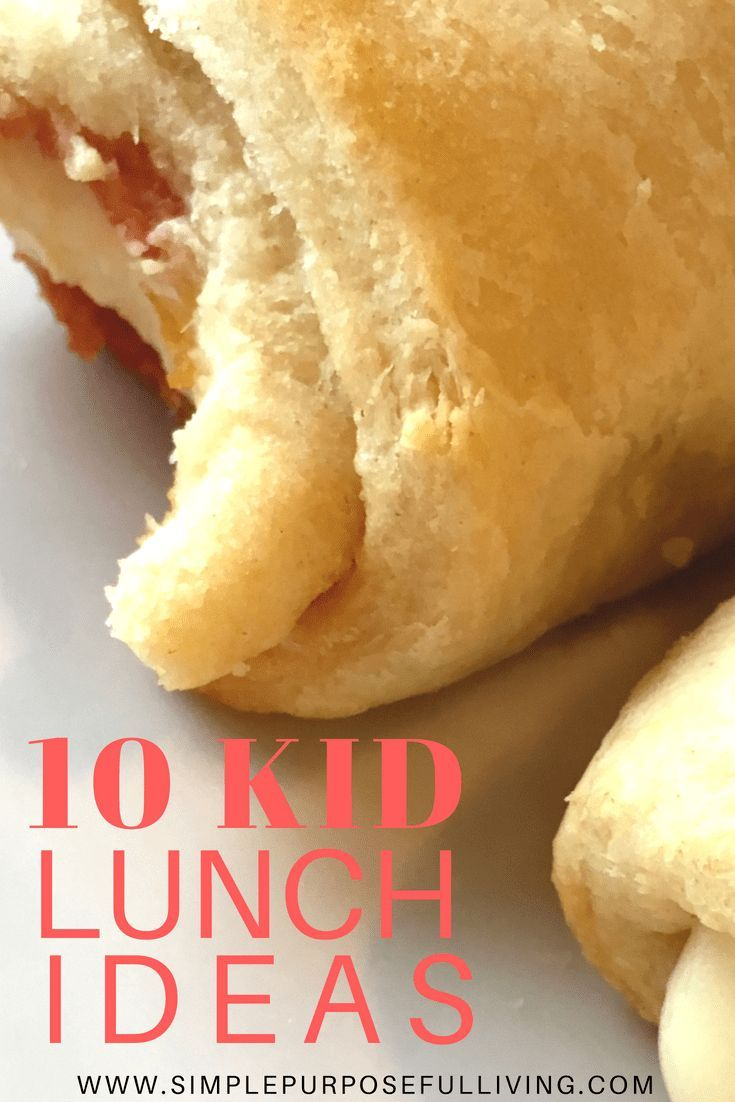 10 Simple Kid Lunch Ideas images