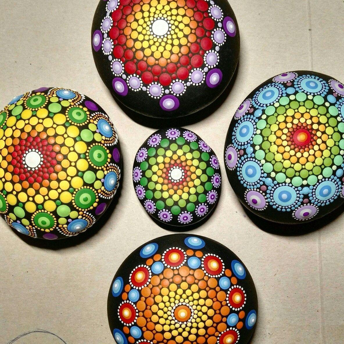 Coming Soon Calendario.New Mandala Stones Coming Soon Piedras Puntillismo