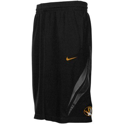 c03d2bc4c Nike Missouri Tigers Replica Basketball Shorts - Black