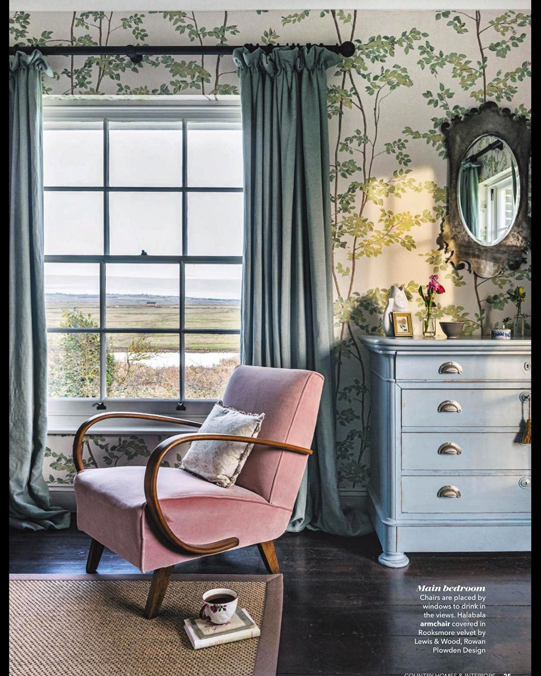 What A View To Wake Up To It S Elmleynature Farmhouse As Shot By Polly Eltes For Countryhomesmag We S In 2020 Country House Interior Home Decor Country House Decor