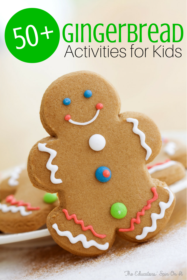 50+ Gingerbread Activities for Kids Easy gingerbread