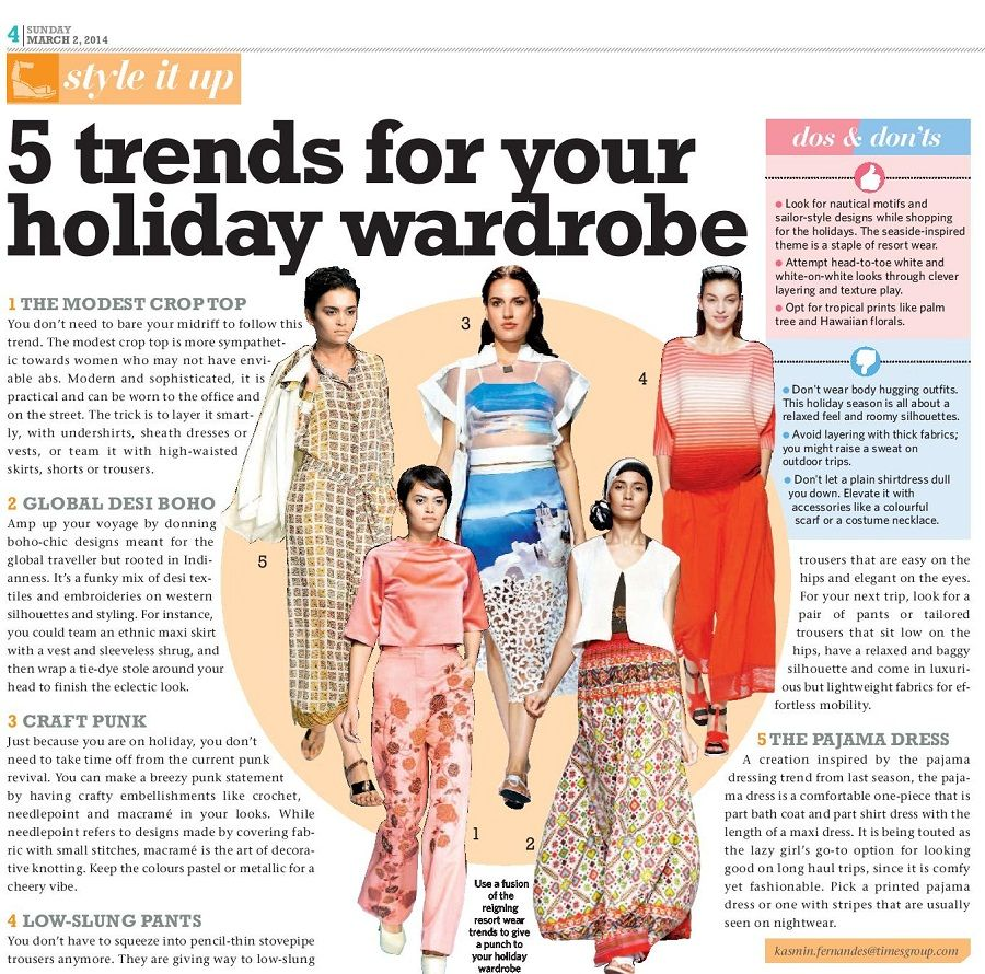 Holiday fashion trends for march times life fashion