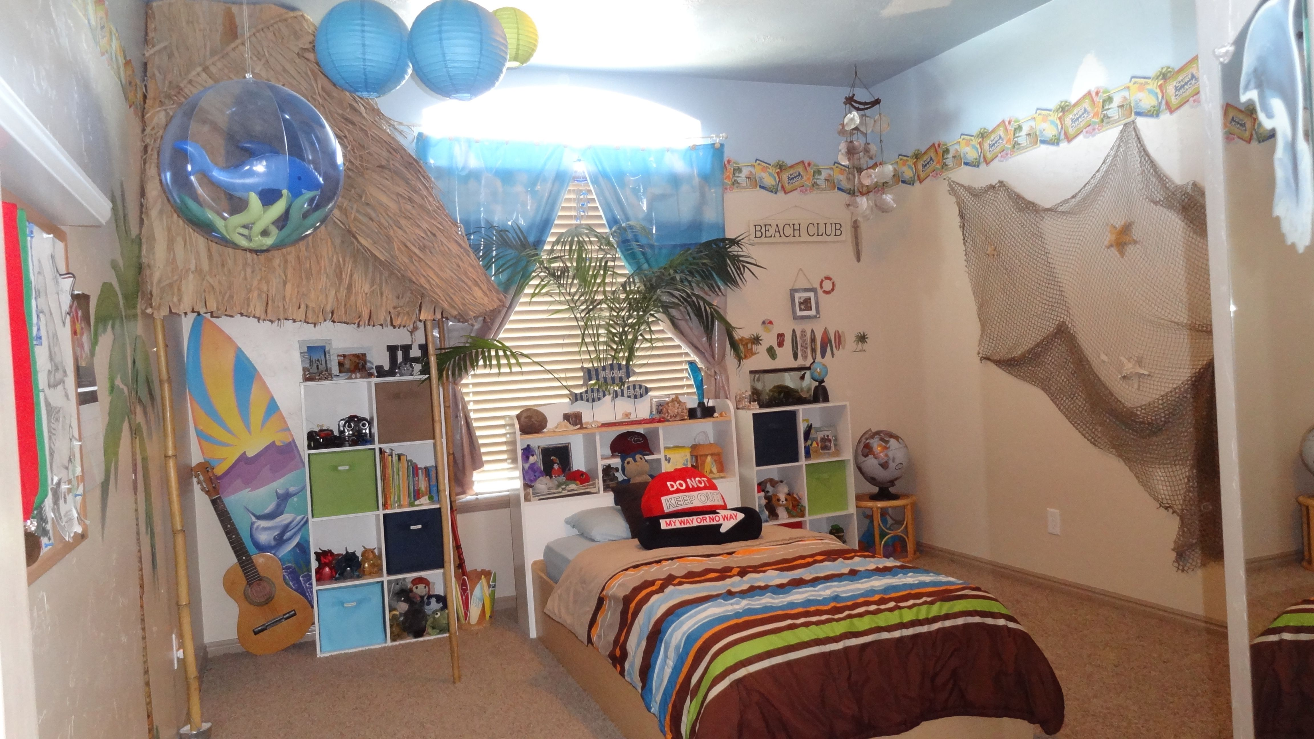 Beach Themed Kids Room Diy Home Design Inspiration