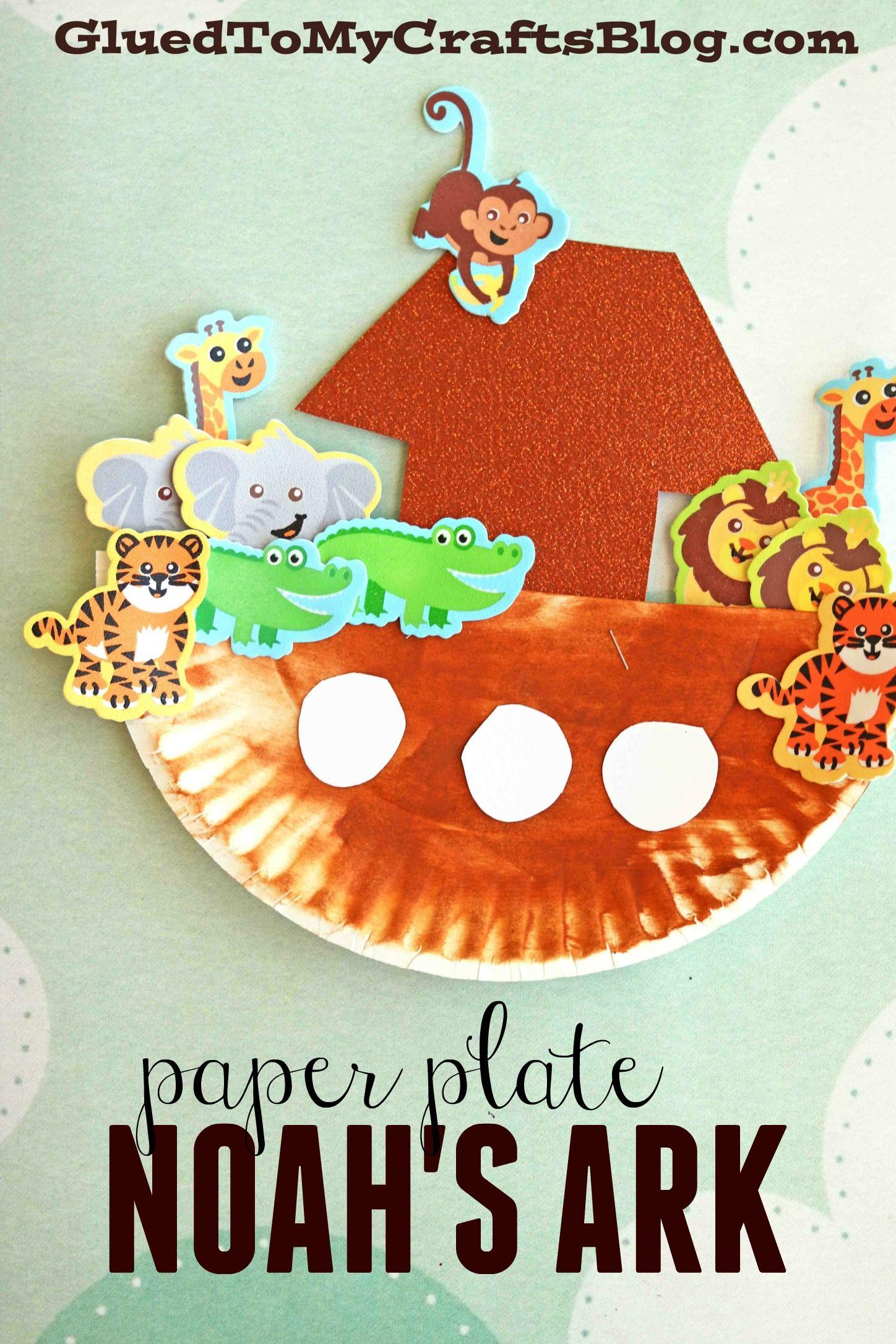 paper plate noah u0027s ark kid craft idea find tons of paper plate