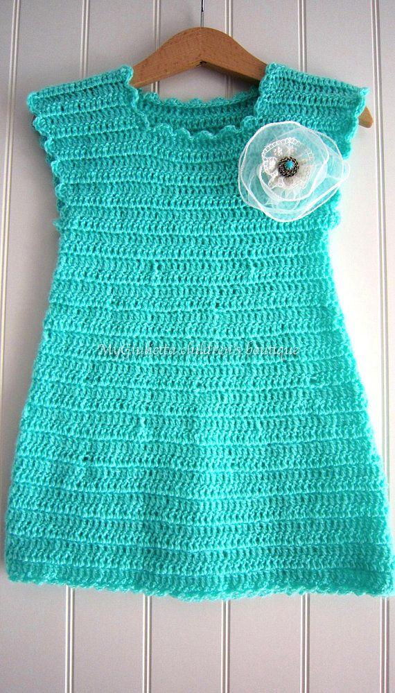 Little Princess Dress, Crochet Dress Baby, Crochet Vintage Baby ...