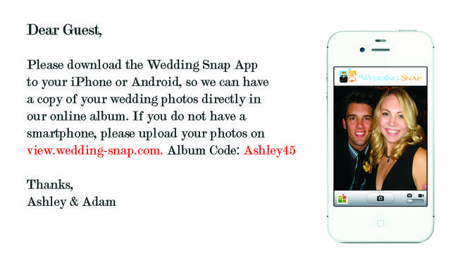 Collect Your Guests Photos Automatically With Wedding Snap