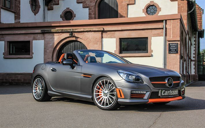 Mercedes Benz Csk 55 Carlsson Tuning R172 Cabriolets Gray